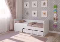 Детская кровать Легенда 40 белая