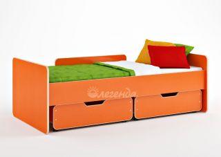 Детская кровать от 3 лет Легенда 14.1 (с экспозиции)