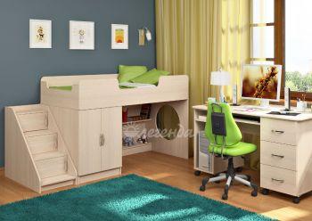 Детская кровать от 3 лет Легенда 2.3
