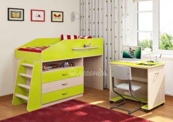 Детская кровать от 3 лет Легенда 12.1