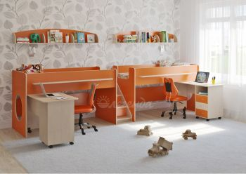 Двухъярусная кровать Легенда 23.5