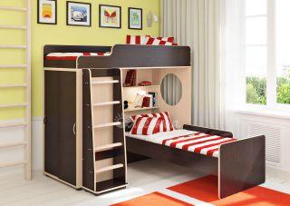 Двухъярусная кровать Легенда 5.5