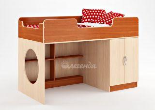 Модуль детской кровати от 3 лет Легенда 2