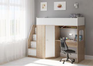 Кровать чердак Легенда B604.3