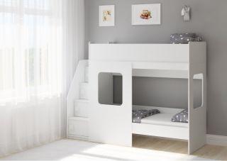 Двухъярусная кровать Легенда D604.3