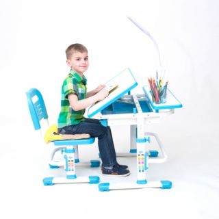 Комплект парта растущая и стул с чехлом RIFFORMA COMFORT-07