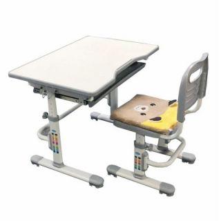 Комплект растущая парта и стул с чехлом Rifforma SET-10