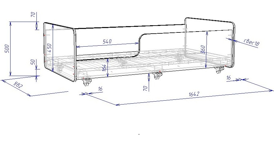 Выдвижная кровать в Минске